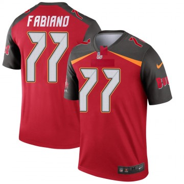 Youth Nike Tampa Bay Buccaneers Anthony Fabiano Red Jersey - Legend