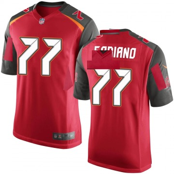 Youth Nike Tampa Bay Buccaneers Anthony Fabiano Red Team Color Jersey - Game