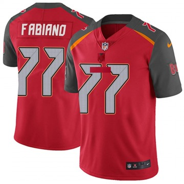 Youth Nike Tampa Bay Buccaneers Anthony Fabiano Red Team Color Vapor Untouchable Jersey - Limited