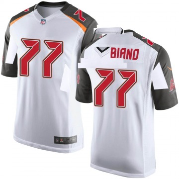 Youth Nike Tampa Bay Buccaneers Anthony Fabiano White Jersey - Game