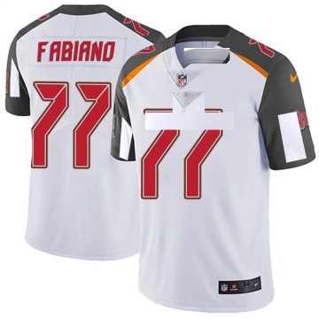 Youth Nike Tampa Bay Buccaneers Anthony Fabiano White Vapor Untouchable Jersey - Limited