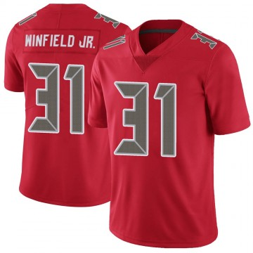 Youth Nike Tampa Bay Buccaneers Antoine Winfield Jr. Red Color Rush Jersey - Limited