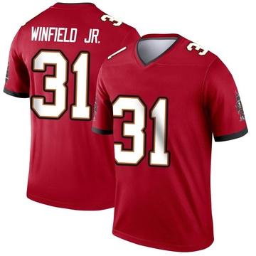 Youth Nike Tampa Bay Buccaneers Antoine Winfield Jr. Red Jersey - Legend