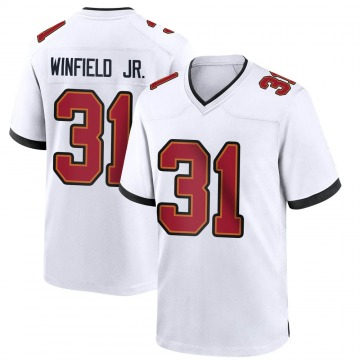 Youth Nike Tampa Bay Buccaneers Antoine Winfield Jr. White Jersey - Game