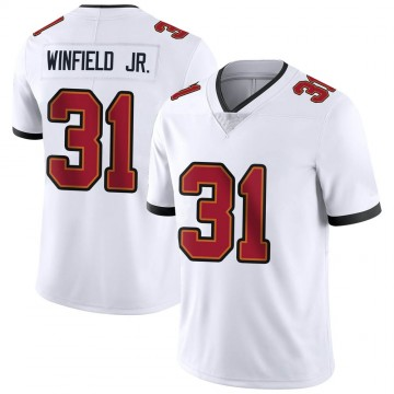 Youth Nike Tampa Bay Buccaneers Antoine Winfield Jr. White Vapor Untouchable Jersey - Limited