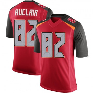 Youth Nike Tampa Bay Buccaneers Antony Auclair Red 100th Vapor Jersey - Limited