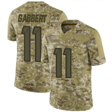 Youth Nike Tampa Bay Buccaneers Blaine Gabbert Camo 2018 Salute to Service Jersey - Limited