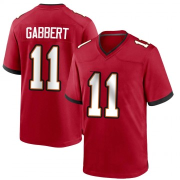 Youth Nike Tampa Bay Buccaneers Blaine Gabbert Red Team Color Jersey - Game