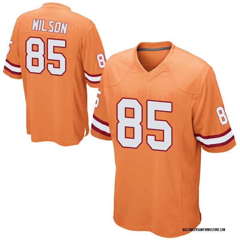 low priced 65904 19165 Youth Nike Tampa Bay Buccaneers Bobo Wilson Orange Alternate Jersey - Game