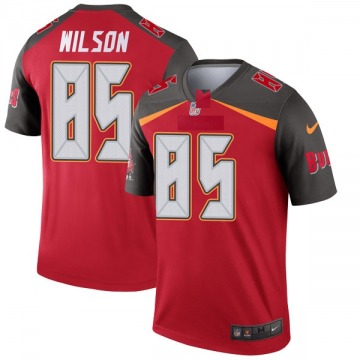Youth Nike Tampa Bay Buccaneers Bobo Wilson Red Jersey - Legend