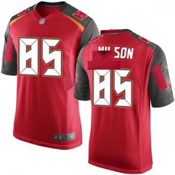 Youth Nike Tampa Bay Buccaneers Bobo Wilson Red Team Color Jersey - Game