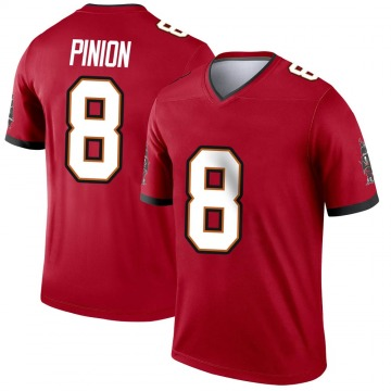 Youth Nike Tampa Bay Buccaneers Bradley Pinion Red Jersey - Legend