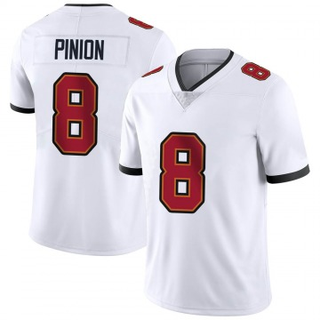 Youth Nike Tampa Bay Buccaneers Bradley Pinion White Vapor Untouchable Jersey - Limited