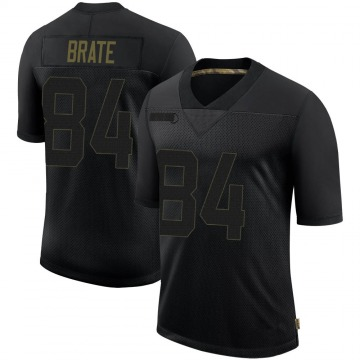 Youth Nike Tampa Bay Buccaneers Cameron Brate Black 2020 Salute To Service Jersey - Limited