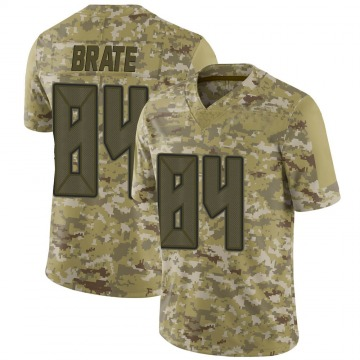 Youth Nike Tampa Bay Buccaneers Cameron Brate Camo 2018 Salute to Service Jersey - Limited