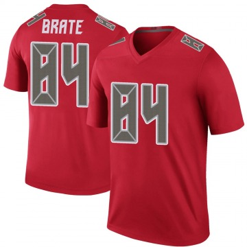 Youth Nike Tampa Bay Buccaneers Cameron Brate Red Color Rush Jersey - Legend