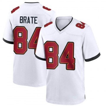 Youth Nike Tampa Bay Buccaneers Cameron Brate White Jersey - Game