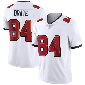 Youth Nike Tampa Bay Buccaneers Cameron Brate White Vapor Untouchable Jersey - Limited