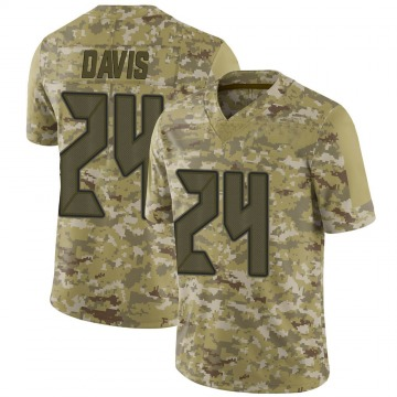 Youth Nike Tampa Bay Buccaneers Carlton Davis Camo 2018 Salute to Service Jersey - Limited