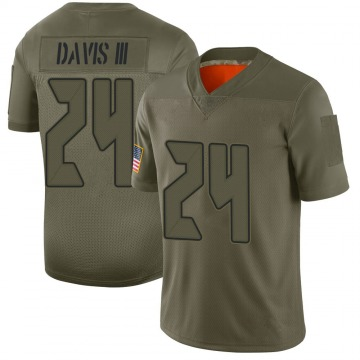Youth Nike Tampa Bay Buccaneers Carlton Davis Camo 2019 Salute to Service Jersey - Limited
