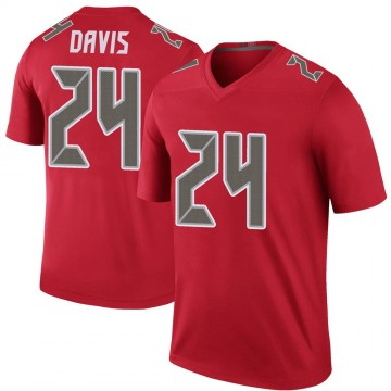Youth Nike Tampa Bay Buccaneers Carlton Davis Red Color Rush Jersey - Legend