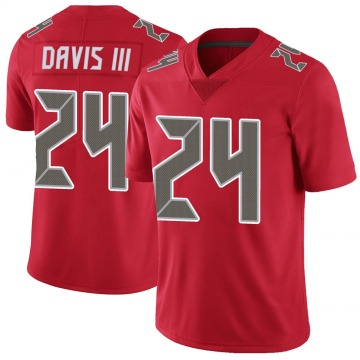 Youth Nike Tampa Bay Buccaneers Carlton Davis Red Color Rush Jersey - Limited