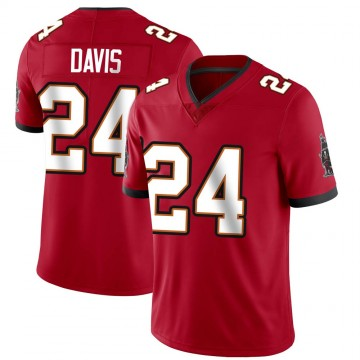 Youth Nike Tampa Bay Buccaneers Carlton Davis Red Team Color Vapor Untouchable Jersey - Limited