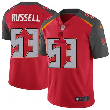 Youth Nike Tampa Bay Buccaneers Chapelle Russell Red Team Color Vapor Untouchable Jersey - Limited