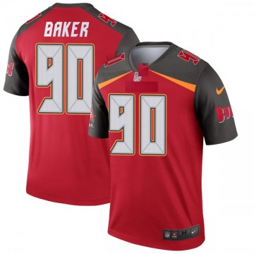 Youth Nike Tampa Bay Buccaneers Chris Baker Red Jersey - Legend