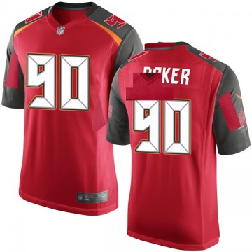 Youth Nike Tampa Bay Buccaneers Chris Baker Red Team Color Jersey - Game