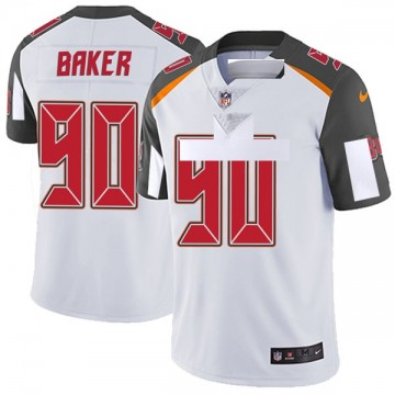 Youth Nike Tampa Bay Buccaneers Chris Baker White Vapor Untouchable Jersey - Limited
