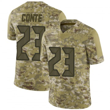 Youth Nike Tampa Bay Buccaneers Chris Conte Camo 2018 Salute to Service Jersey - Limited