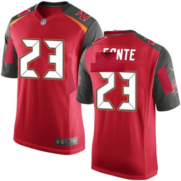 Youth Nike Tampa Bay Buccaneers Chris Conte Red Team Color Jersey - Game
