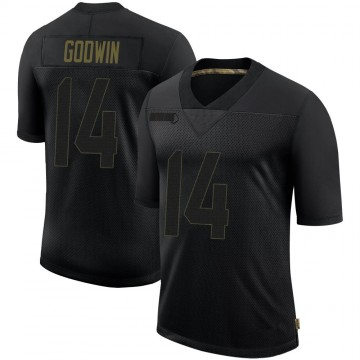 Youth Nike Tampa Bay Buccaneers Chris Godwin Black 2020 Salute To Service Jersey - Limited