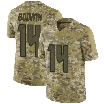 Youth Nike Tampa Bay Buccaneers Chris Godwin Camo 2018 Salute to Service Jersey - Limited