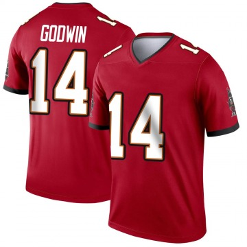 Youth Nike Tampa Bay Buccaneers Chris Godwin Red Jersey - Legend