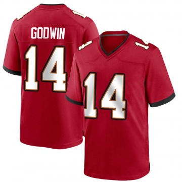 Youth Nike Tampa Bay Buccaneers Chris Godwin Red Team Color Jersey - Game