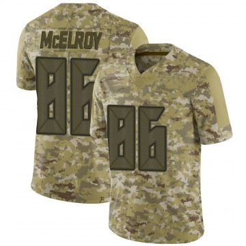 Youth Nike Tampa Bay Buccaneers Codey McElroy Camo 2018 Salute to Service Jersey - Limited