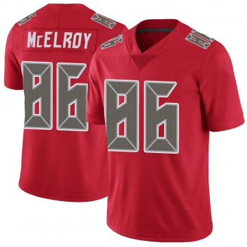 Youth Nike Tampa Bay Buccaneers Codey McElroy Red Color Rush Jersey - Limited