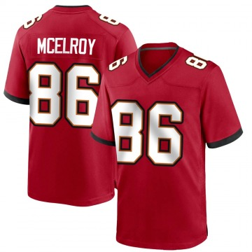 Youth Nike Tampa Bay Buccaneers Codey McElroy Red Team Color Jersey - Game