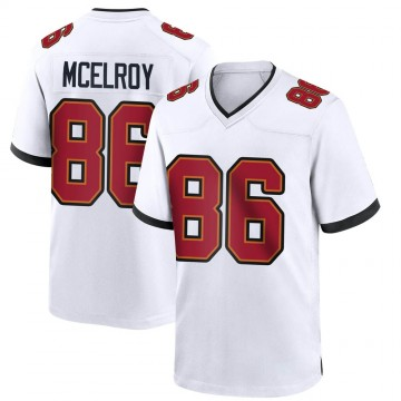 Youth Nike Tampa Bay Buccaneers Codey McElroy White Jersey - Game