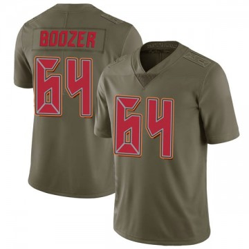 Youth Nike Tampa Bay Buccaneers Cole Boozer Green 2017 Salute to Service Jersey - Limited