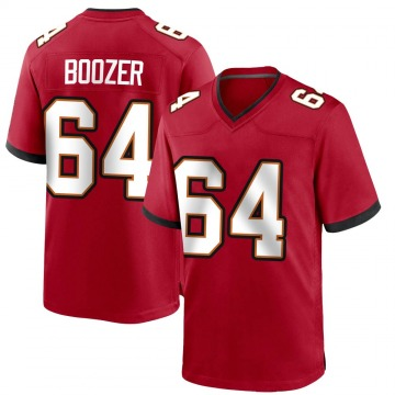 Youth Nike Tampa Bay Buccaneers Cole Boozer Red Team Color Jersey - Game