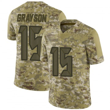 Youth Nike Tampa Bay Buccaneers Cyril Grayson Jr. Camo 2018 Salute to Service Jersey - Limited
