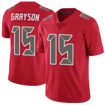 Youth Nike Tampa Bay Buccaneers Cyril Grayson Jr. Red Color Rush Jersey - Limited