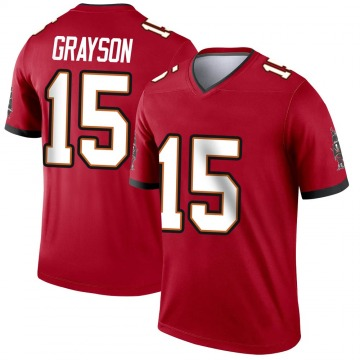 Youth Nike Tampa Bay Buccaneers Cyril Grayson Jr. Red Jersey - Legend