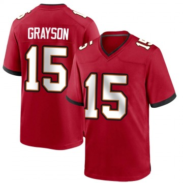 Youth Nike Tampa Bay Buccaneers Cyril Grayson Jr. Red Team Color Jersey - Game