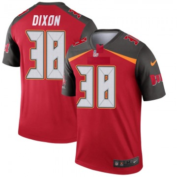 Youth Nike Tampa Bay Buccaneers D'Cota Dixon Red Jersey - Legend