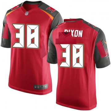 Youth Nike Tampa Bay Buccaneers D'Cota Dixon Red Team Color Jersey - Game