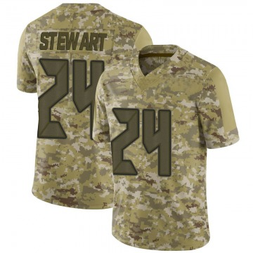 Youth Nike Tampa Bay Buccaneers Darian Stewart Camo 2018 Salute to Service Jersey - Limited